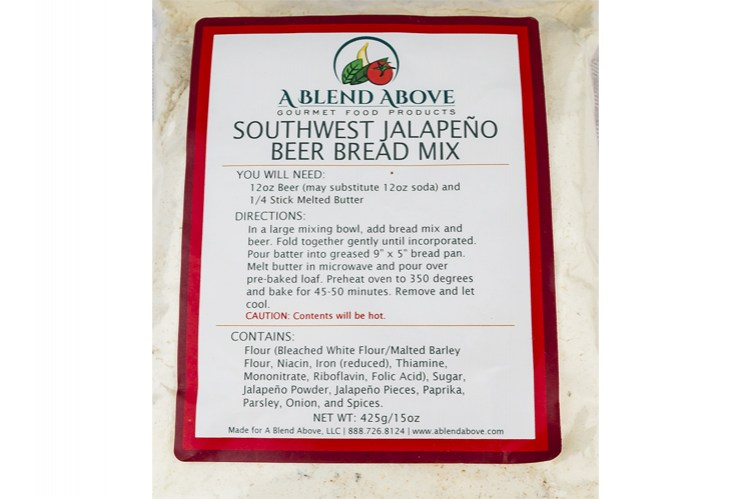 Southwest Jalapeno Beer Bread Mix