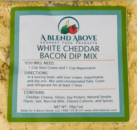 White Cheddar Bacon Dip