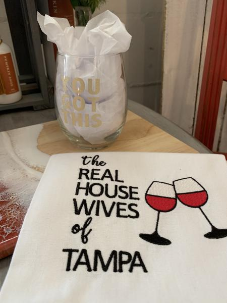 Real Housewives  of Tampa Tea Towel