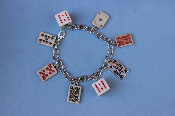 B336 Playing Card Charms & Dice