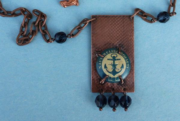 N467 Navy Relief Society on Copper