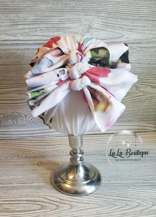 Water Color Baby Headwrap- 3 STYLES!