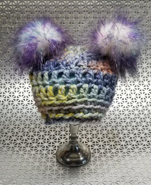 AJ HATS-handmade. fleece lined.WARM-  Dreamcatcher