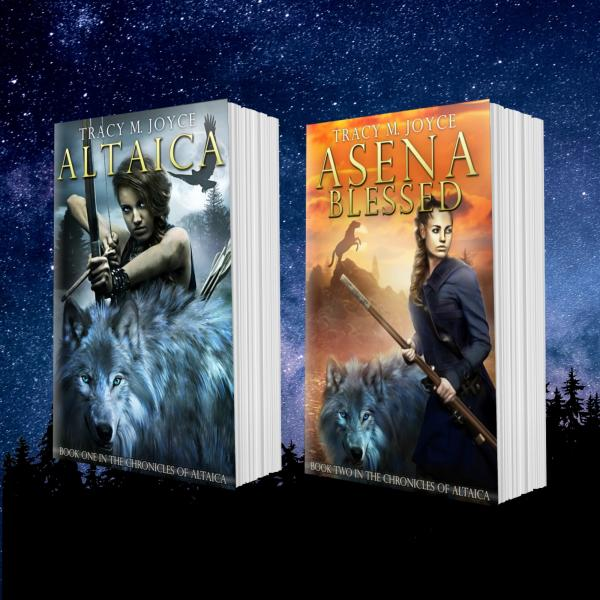 Book Bundle Altaica & Asena Blessed
