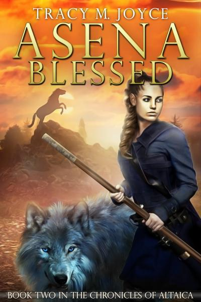 Asena Blessed, Book Two in The Chronicles of Altaica (Incl character chart)