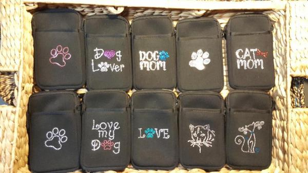 3 Pack Pami Pocket Cell Phone Purses picture