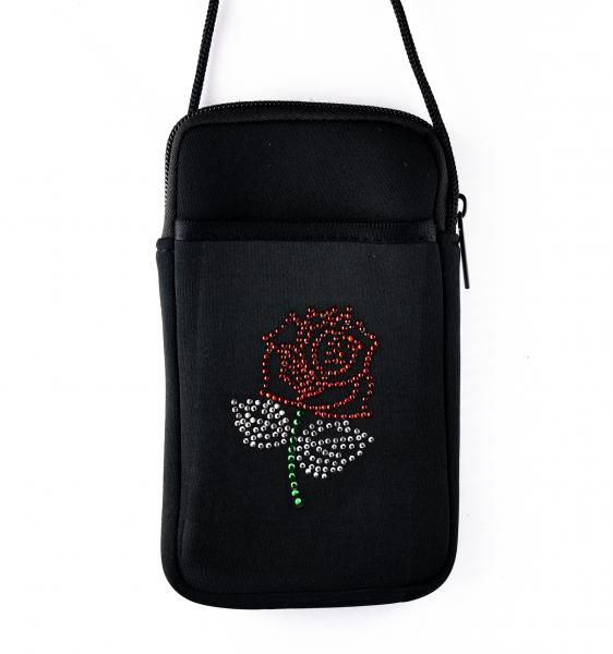 Rose Pami Pocket Cell Phone Purse