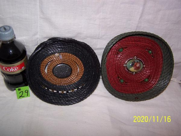 Continuous Coil Pine Needle Basketry