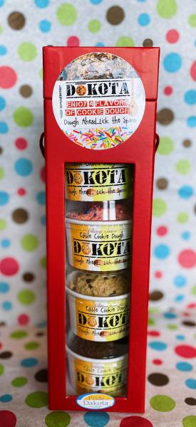 Edible Cookie Dough 4 Pack