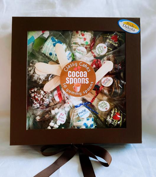 Hot Cocoa Spoon Gift Box (10 spoons)