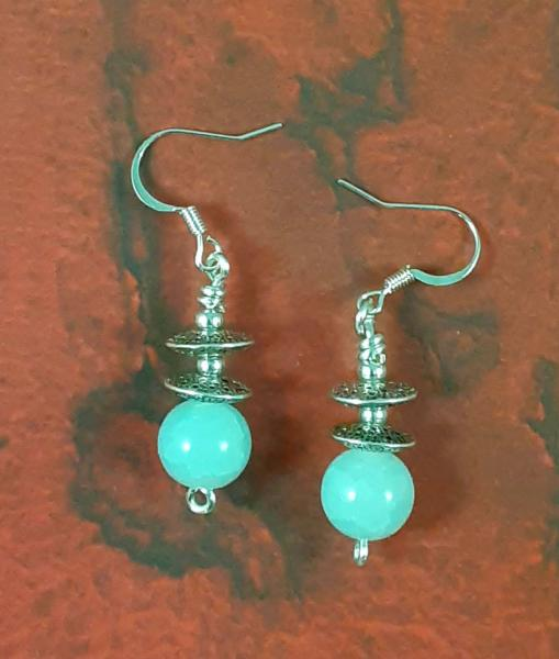 Saucer Wire Earrings
