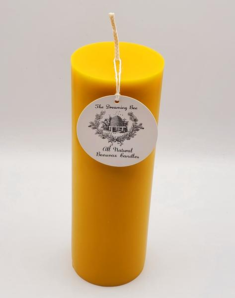 Beeswax Pillar 3X9 picture