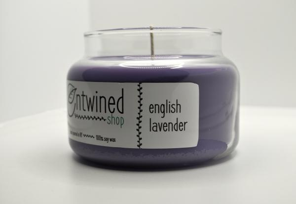 English Lavender 10oz. Soy Candles