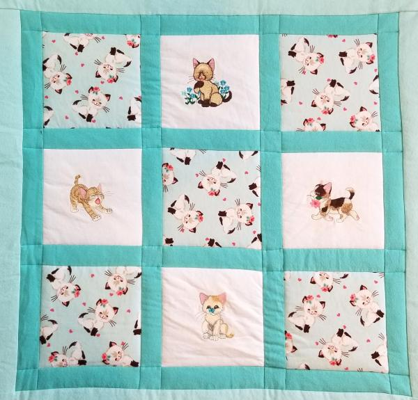 Kittens and Cats Soft Flannel Blanket