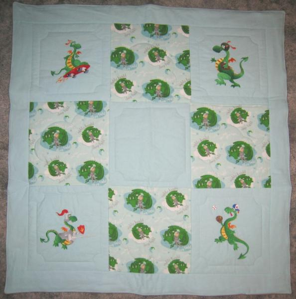 Sports Dragons Soft Flannel Blanket picture
