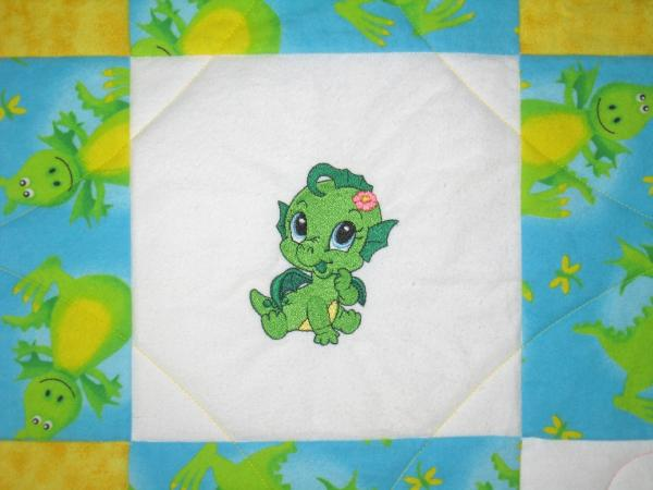 Baby Dragons Soft Flannel Blanket picture