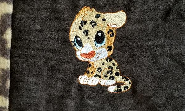 Baby Leopards Soft Blanket picture