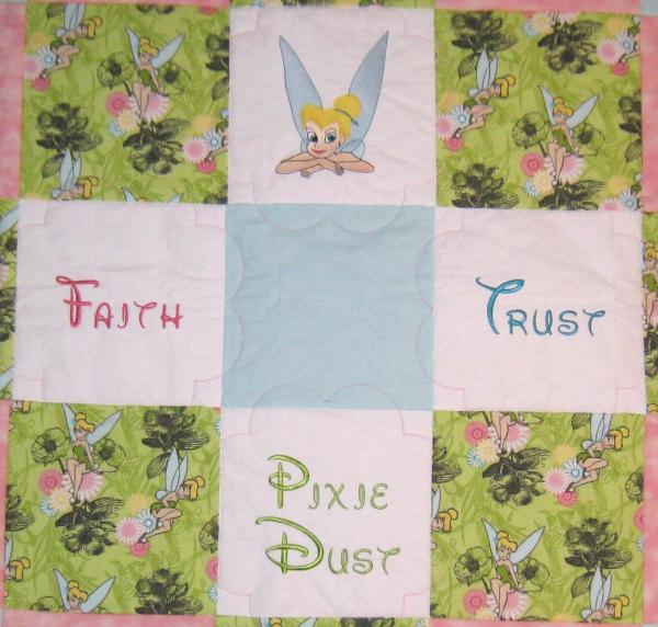 Tinkerbell Soft Flannel Blanket