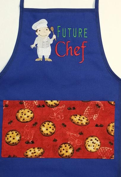 Future Chef Boy Child Size Aprons picture