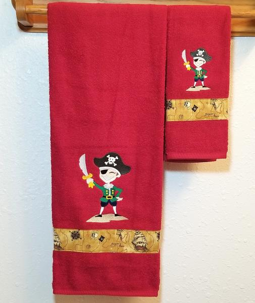 Pirate Bath Towel - Fun Pirate Towels - For All Treasure Seeking Pirates!