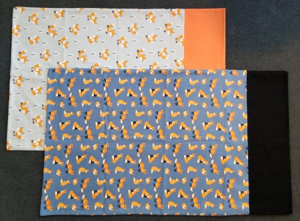 FOX FLANNEL Pillowcases for Standard or Queen Size Pillow