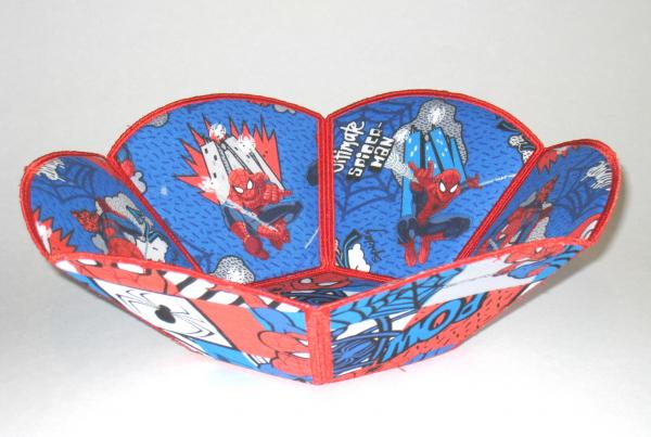 Spiderman Decorative Fabric Bowls