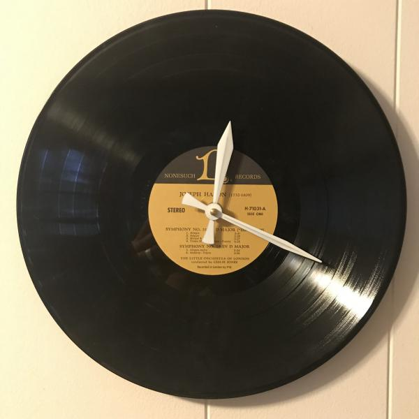 "Record Clock - ""H"" Artists  - Huge selection! see Variations below for full list! picture"