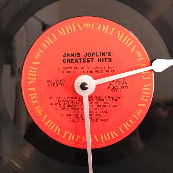 "Record Clock - ""J"" Artists  - Huge selection! see Variations below for full list! picture"