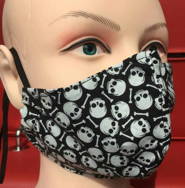 Skull and Bones Face Mask