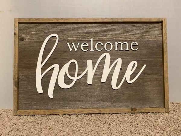Wall Plaque - Welcome Home