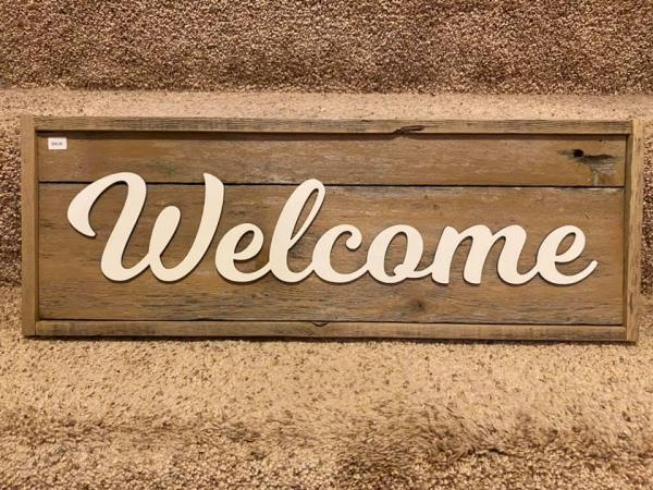 Wall Plaque - Welcome
