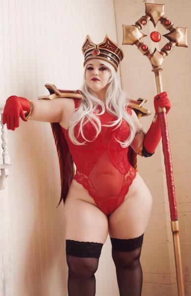 """Wicked Whitemane"" signed 11x17 Boudoir Print"
