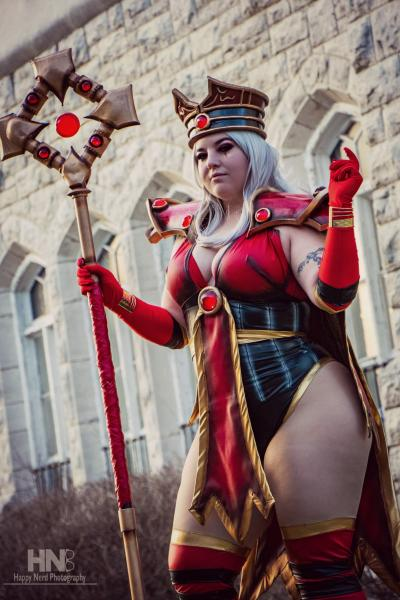 Sally Whitemane World of Warcraft signed 11x17 Cosplay Print