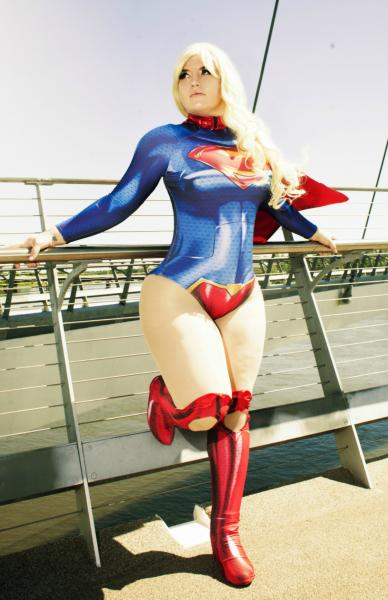 Supergirl signed 11x17 Cosplay Print