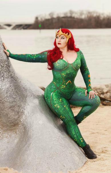 Mera Aquaman signed 11x17 Cosplay Print