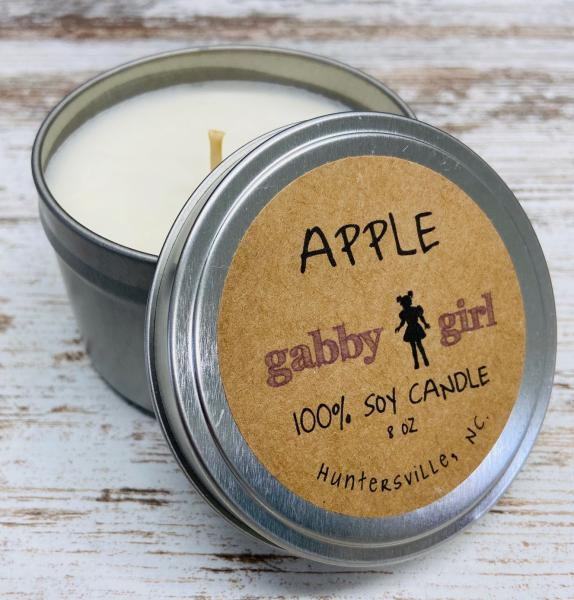Apple Scented Soy Candle (8oz)