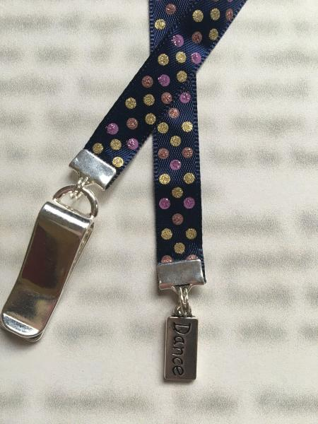 Dance bookmark / Dancer bookmark  - Attach clip to book cover then mark the page with the ribbon. Never lose your bookmark! picture