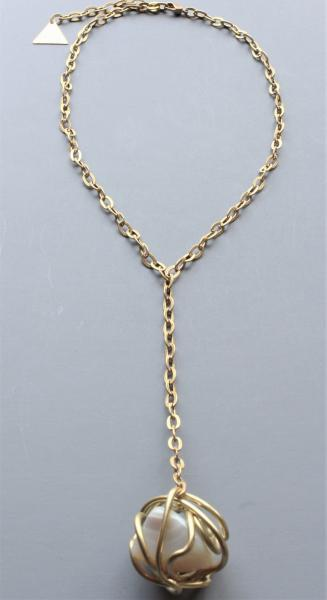 Asher Lariat Pendant Necklace