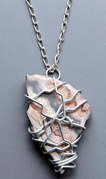 Imani Wire Wrapped Pendant Necklace picture