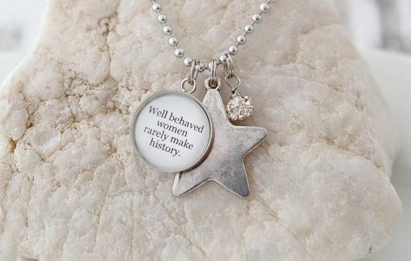 Well Behaved Women Necklace picture