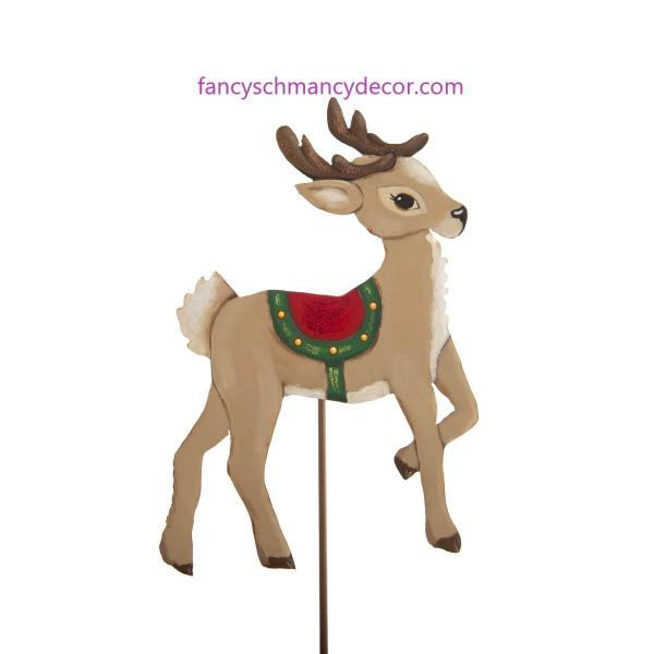 St. Nick Reindeer Stake by The Round Top Collection