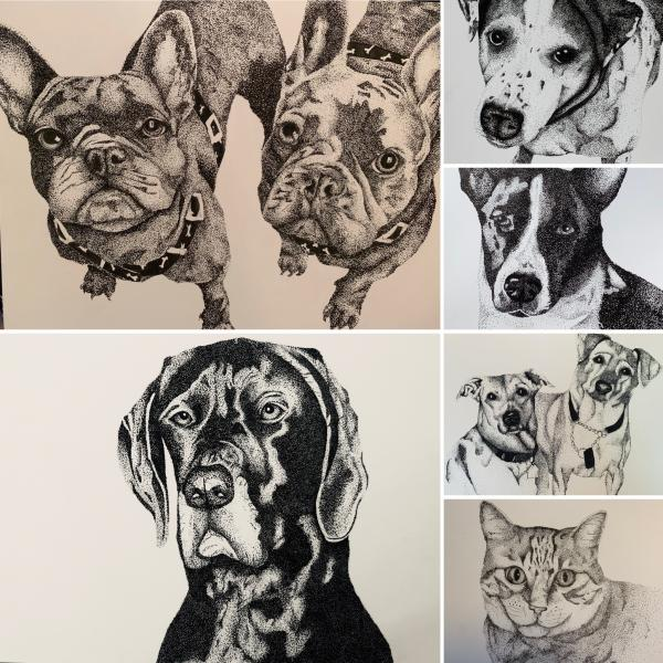 Larger Pet Portraits picture
