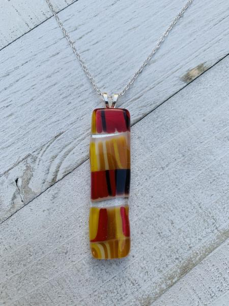 Yellow and Red pendant