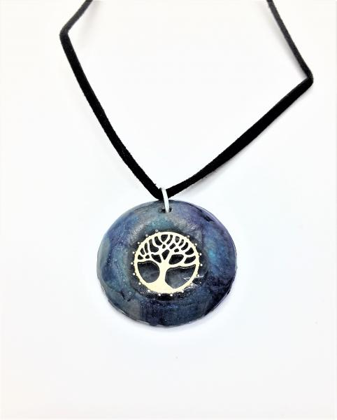 Tree of Life Resin Pendant