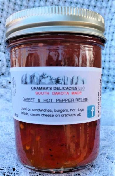 Sweet n Hot Pepper Relish picture