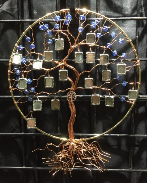 Large Sun Catcher with 20 photo frames