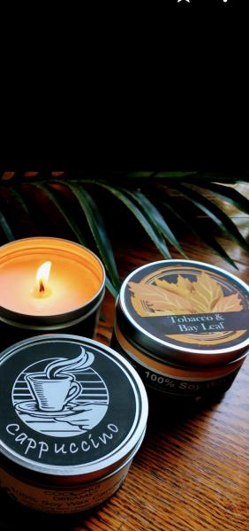 Tobacco & Bay Leaf Soy Wax Candle