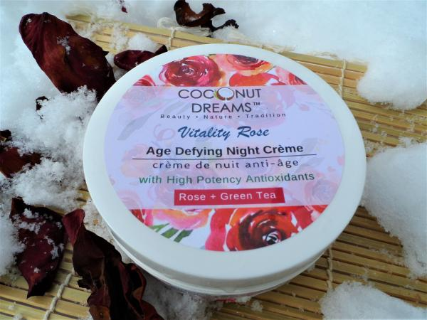 Vitality Rose (Nighttime) Age-Defying Creme/ 4 Oz