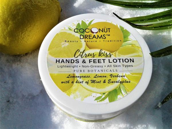 CITRUS KISS Hands & Feet Lotion/ 4Oz