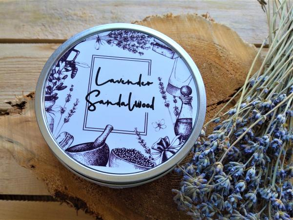 Lavender &Sandalwood Soy Wax Candles
